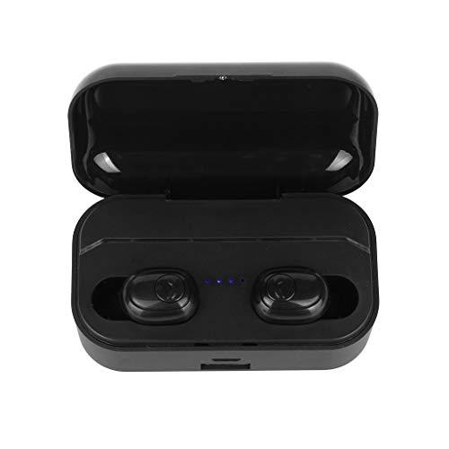 Yowablo Bluetooth Ohrhörer Kabellose Ohrhörer Bluetooth 5.0-Kopfhörer für Handy/Laufen/Android/IOS ( Schwarz )