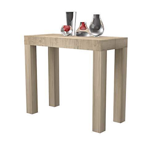 Tavolo consolle allungabile Nettuno in folding laminato - allungabile da 40 cm 300 cm, in 10...