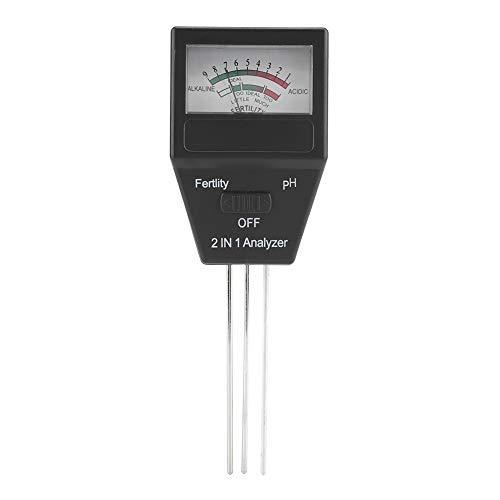 Check Out This Nikou Soil pH Meter - 2 in 1 Soil pH Tester High Precision Fertile Soil pH Tester Met...