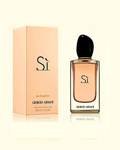 Giorgio Armani Si Eau De Toilette Spray, 1er Pack (1 x 100 ml)