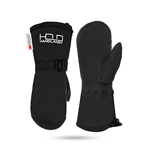 HANDLANDY Winter Snowboard Handschuhe - warme 3m Thinsulate Thermo Ski Fäustling