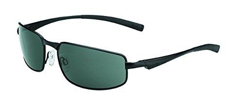 bollé Sonnenbrille Everglades - Gafas de Ciclismo, Color Negro Mate, Talla S/M