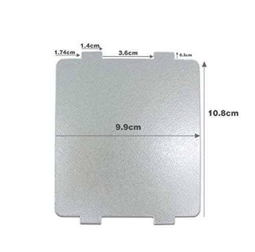 WuYan, 10 fogli universali per forno a microonde, per Galanz, per Midea, per Panasonic LG, 9,9 x 10,8 cm