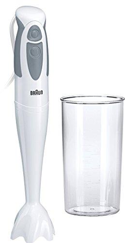 Braun MQ 300 Soup Multiquick 3 Staafmixer (450 Watt) grijs Zonder accessoires 1 - Pack grijs/wit