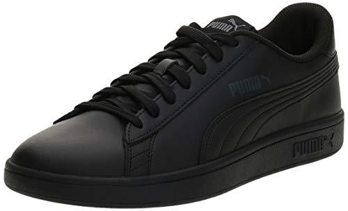 PUMA Smash V2 L, Zapatillas Unisex-Adulto, Negro Black Black, 39 EU