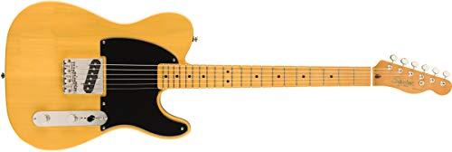 Squier Guitarra eléctrica clásica Vibe '50s Esquire Edición Limitada - Butterscotch Blonde