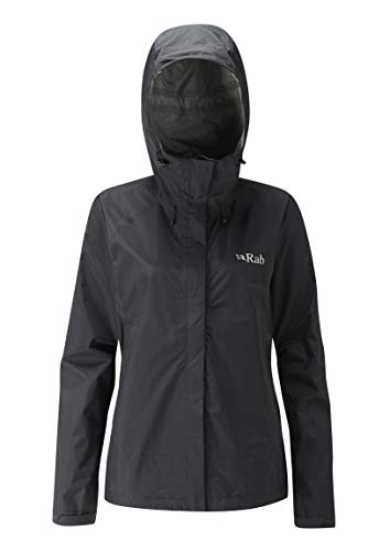 RAB, Downpour Jacket dames, zwart