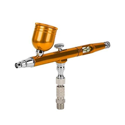 Pintura Aerógrafo Pistola Arte Reasonable Pistola de pulverización neumática Aerógrafo Pluma DIY Pintura de Dibujo en aerosol (Dorado)