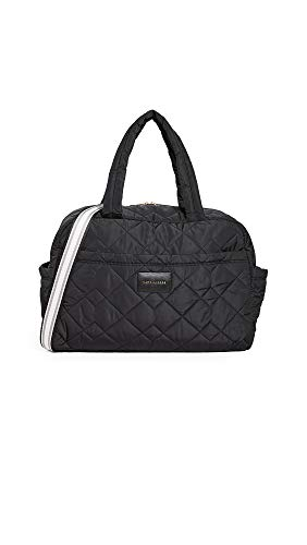 Marc Jacobs Quilted Nylon Large Bag, Black