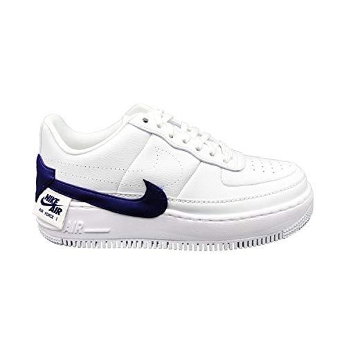 Nike W Af1 Jester XX, Scarpe da Basket Donna, Multicolore (White/Regency Purple 103), 37.5 EU