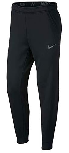 Nike Mens Tapered Therma Training Sweatpants (Black/Carbon Heather, Medium)