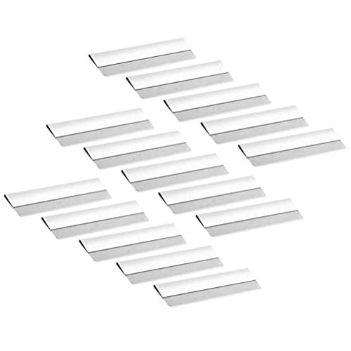 Minkissy 100 cuchillas de afeitar para cejas y cejas, para hombres y mujeres