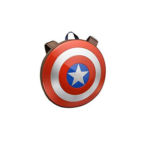 Bestting Zaino Porta Computer per Giovani, Zaino Captain America Shield 75 ° Anniversario