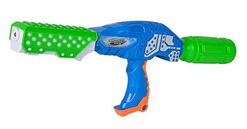 Simba 107276065 Waterzone Bottle Blaster Pro/Wasserpistole/Pumpmechanismus/Aufnahme für PET-Flaschen/Tankvolumen: 250ml / Reichweite: 8m