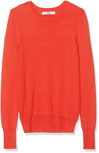 Amazon-Marke: find. Damen Pullover, Rot (RED), 44, Label: XXL