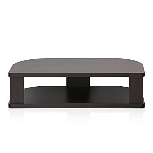 FURINNO Indo Wide Swivel Shelf for TV, 31.4'