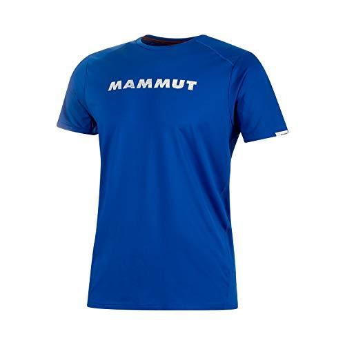 Mammut T-Shirt avec Logo Splide pour Homme. L Indigo