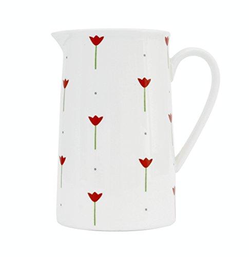Fine porcellana 14cm lattiera Tulip designed by Dee Hardwicke spedizione gratuita nel Regno Unito