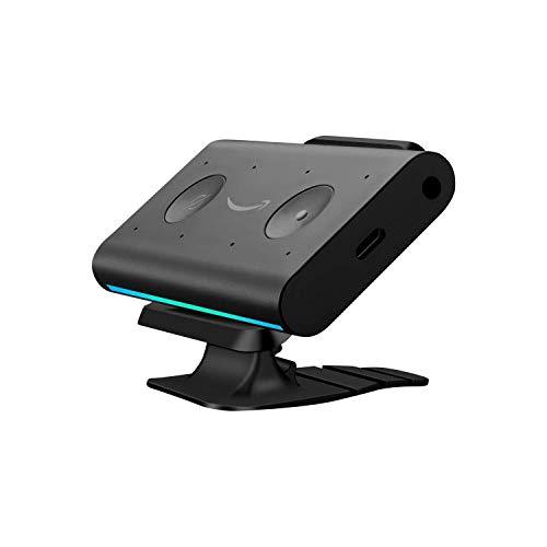 OLAIKE Supporto magnetico per Echo auto/Echo Auto Mount/Echo Auto Dash Mount/Echo Auto Mount pad, Base pieghevole con nastro 3M, Stick sulla superficie per tutte le auto (Staffa + Base)