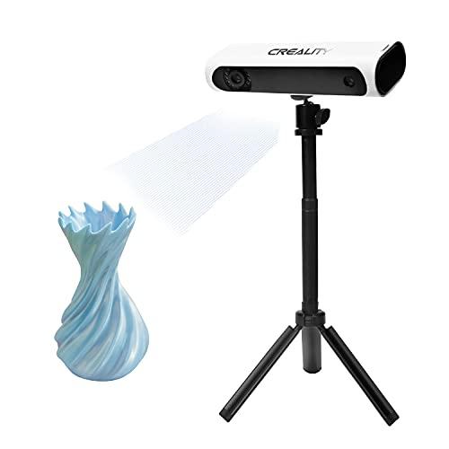 Aibecy Creality CR-SCAN01 3D Scanner, Tragbarer 3D Modellierungsscanner Hochpräzise Unterstützung OBJ/STL-Ausgabe mit Plattenspieler für Industriedesigns