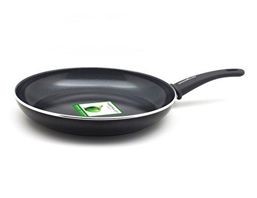 GreenChef braadpan met keramische coating inductiepan vaatwasserbestendig, aluminium, zwart, 20 cm