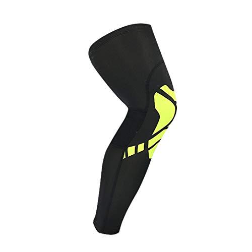Rodilleras elásticas Rodillera elástica Cómoda rodillera Compresión de circulación mejorada para el dolor articular Alivio de la artritis (ToGames)