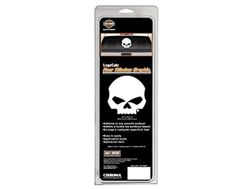 Harley-Davidson Aufkleber Skull Logo Cutz