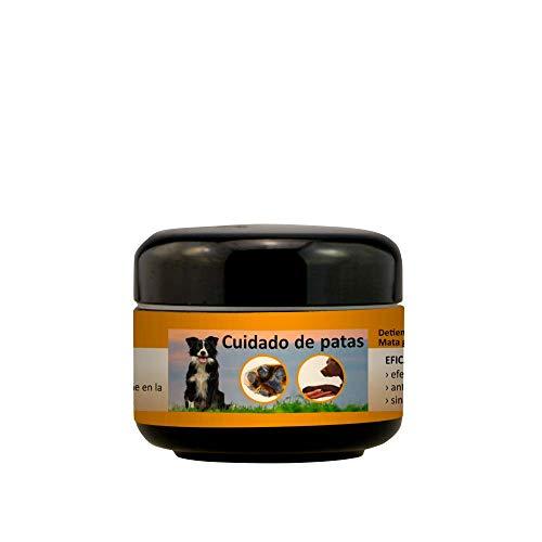 Peticare Perro Bio Cera-Pomada para Patas - Crema de Tratamiento y Cuidado de Pata, Limpia y Proteccion contra Inflamacion, Alivia Picores, Balsamo Protector 100% Organico - petDog Care 2103 (50 ml)