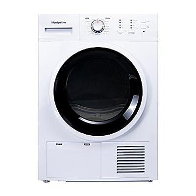Montpellier MCD8W | Freestanding 8kg Sensor Condenser Dryer - White