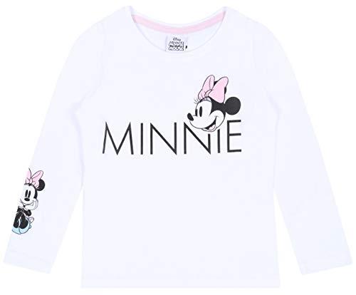 Biała bluzka dla dziewczynek Minnie Mouse Disney