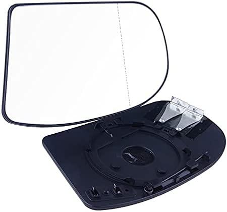 LIULIFE Espejos Cristal Retrovisor Lateral para Benz E,C-Class W211 W203 01-07, Retrovisor Exterior, Espejo retrovisor Gran Angular asférico calefactado para Puerta de automóvil, con Placa Trasera
