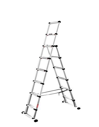 Telesteps 60623-501 Combi 2.3m Leiter, Silber