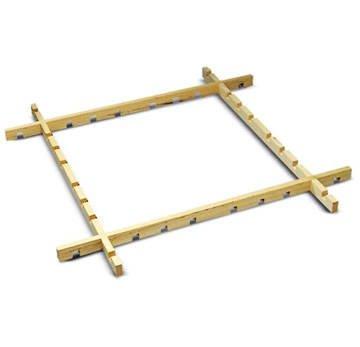 Batik- - Seidenmal-Steck-Rahmen, 100x100 cm [Spielzeug]