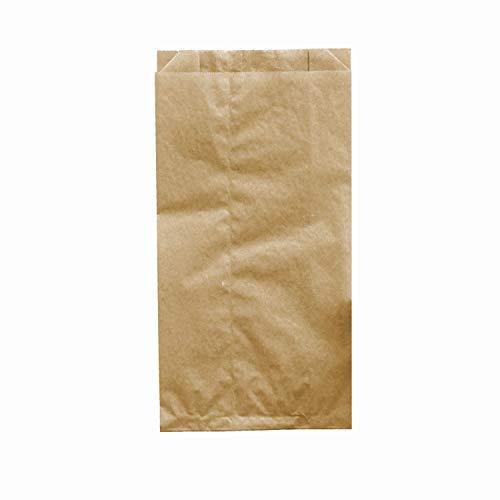 "Pack&Cup Brotbeutel (Bäckerbeutel, Faltenbeutel) ""Kraft"" 2388 ml. 1000 St."