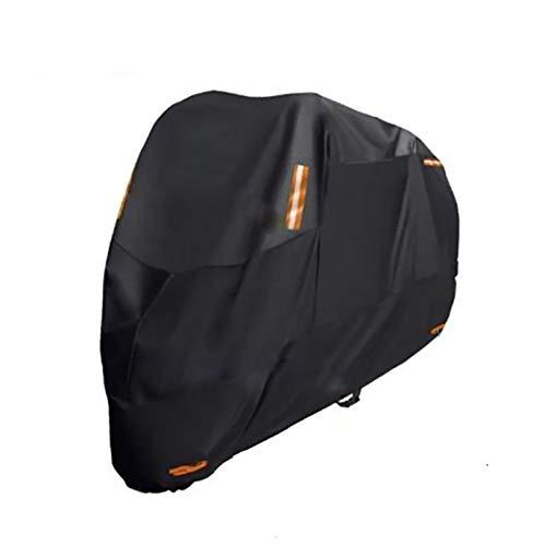 PDHZHJXB Fundas para Motos Motocicleta Cubre Compatible con Cubierta de la Motocicleta MV Agusta F3 800, 6 tamaños Cubierta de la Motocicleta Resistente al Agua Mejorada de poliéster 300D Negro