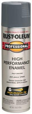 Rust-Oleum Professional Gloss Dark Machine Gray Spray Paint 15 oz.