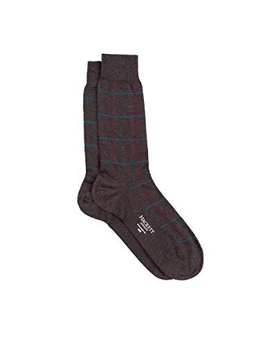 Calcetines Hackett Ceco Tweed marrón Hombre