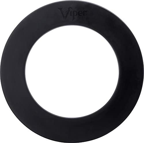 "Viper by GLD Products Guardian Dartboard Surround Sisal/Bristle Steel-Tip Dartboard Wall Protector, Black, for 17.75"" Steel tip Dart Board"