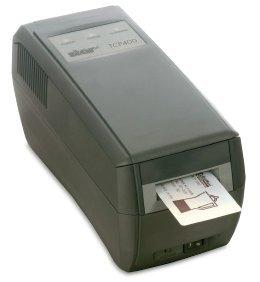 tcp400réinscriptible Carte d'identité Imprimante (Gris)