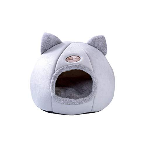 Cama de gato macia e dobrável ideal para dias mais frios (Medium)