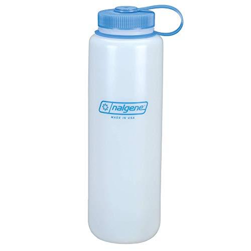 Nalgene HDPE BPA-Free Water Bottle, White, 48 oz