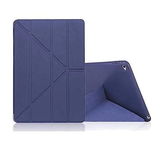RZL PAD & TAB cases For IPad New MINI 5 2019, Slim Folding Cover Smart Auto Sleep Soft TPU Cover For IPad MINI 5 2019 TPU 7.9'' (Color : Navy Blue)
