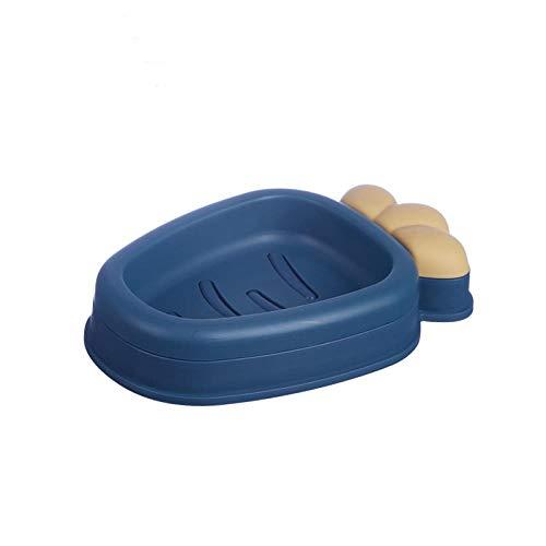 Chicya Soap Dish Radish Type Double Drain Soap Dish Soap Dish Rack