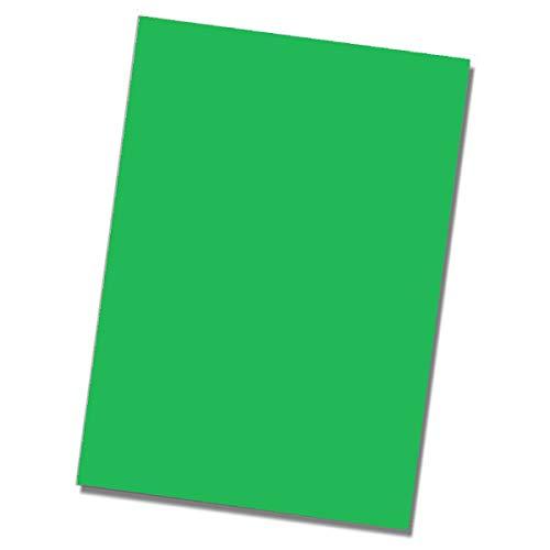 200 Blatt Briefpapier DIN A4 - Farbe: Billiardgrün - Bastelpapier stabile 80 g/m² Matte Oberfläche - Zeichenpapier Kopierpapier - Glüxx-Agent