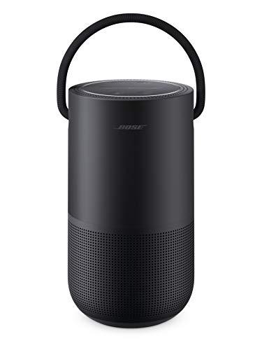 Bose Altavoz portátil para el hogar, con Control de Voz Alexa Integrado, Color Negro