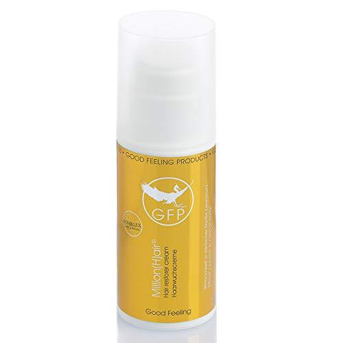 Million(H) air® - Das einzigartige und natürliche Haarwuchsmittel gegen Haarausfall mit dem Alleinstellungsmerkmal dem GFP-Komplex aus dem Zunderschwamm