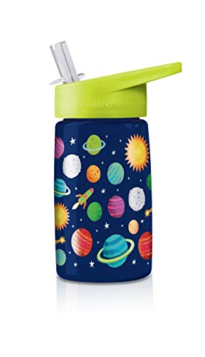 Crocodile Creek 1042-6 Solar System Drinking Bottle, Blue/Green/Red/Orange/Yellow