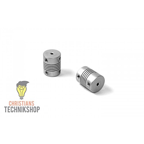 Wellenkupplung 20mm 2,5NM - 6mm / 8mm | z.B 3D Drucker,Schrittmotoren,etc