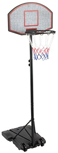 KLB Sport Height Adjustable Portable Youth Basketball Hoop