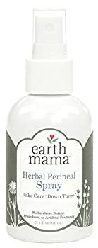 Earth Mama Herbal Perineal Spray for Pregnancy and Postpartum 4-Fluid Ounce 2-Pack